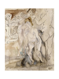 La Coiffure Giclee Print by Jules		 Pascin