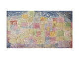 Colourful Landscape Print by Paul Klee