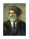 Self-Portrait Giclee Print by Pedro		 Figari