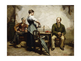 A Welcome Drink Giclee Print by Frans		 Meerts