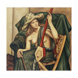 The Japanese Violin Giclee Print by Mark		 Gertler