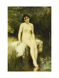 The Bather Giclee Print by Leon Bazile		 Perrault