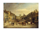 The Skipton Fair of 1830 Art by Thomas		 Burras of Leeds