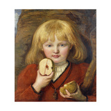 Tell's Son: A Portrait of the Artist's Grandson Prints by Ford Madox		 Brown