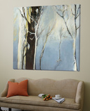 Contemporary Forest 2 Prints by Kathleen Cloutier