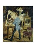 Princeteau in his Studio Pósters por Henri Toulouse-Lautrec