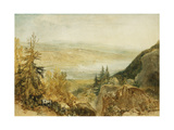 Farnley Hall From Above Otley Prints by J. M. W. Turner