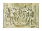 La Parabole du Vigneron, d'Apres Andrea del Sarto Giclee Print by Peter Paul Rubens