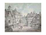 Market Street, Lichfield Art by Joseph Mallord William Turner