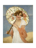 The Parasol Art by Francois		 Martin-Kavel