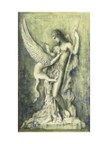 Oedipus and the Sphinx Prints by Gustave Moreau