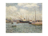 Le Port du Havre Posters by Maxime		 Maufra