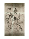 Tightrope Walker Premium Giclee Print by Paul Klee