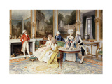 A Distinguished Guest Giclee Print by Lucius		 Rossi