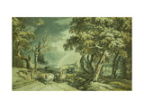 Going to Market Print by Paul		 Sandby