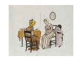 Sophia's Fools Cap Giclee Print by Kate Greenaway