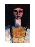Bust of a Young Woman Giclee Print by Amedeo Modigliani