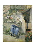 The Jolly Mother Posters by Camille Pissarro