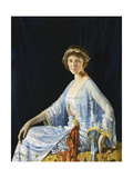 Mrs. Georgina Drum Giclee Print by Sir William		 Orpen