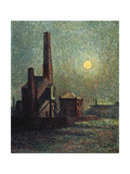 Machine by Moonlight Posters by Maximilien Luce
