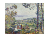 Port de Saint Tropez Poster by Henri		 Lebasque