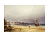 Scarborough Castle from the South Giclee Print by Anthony Vandyke Copley		 Fielding