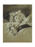 The Head of a Sleeping Child Giclee Print by Jean Michel the Younger Moreau