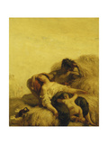 The Sleeping Reapers Poster by Jean-François Millet