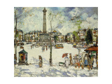 No. 3 Parisian Square Giclee Print by James		 Kay