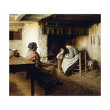 The New Arrival Prints by Walter		 Langley