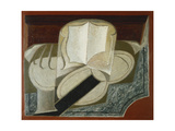 Books and Guitar Art by Juan		 Gris