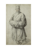 A Man in Korean Costume, wearing a Transparent Headdress of Horsehair Giclee Print by Peter Paul		 Rubens