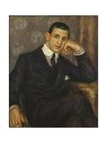Portrait d'Henry Bernstein Posters by Pierre-Auguste Renoir