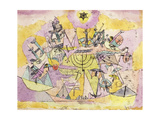 The Unlucky Ships Premium Giclee Print by Paul Klee