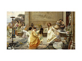Fontinales: Feast of the Fountains Giclee Print by Emilio		 Vasarri