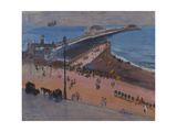 Brighton from the Royal Albion Premium Giclee Print by Sir John		 Lavery