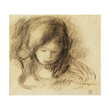 Mini Writer Giclee Print by Pierre-Auguste Renoir