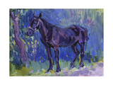 Study for Sussex Farm Horse Poster by Robert		 Bevan