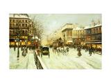 Paris Street Scene Posters by Fausto Giusto