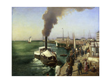 A View of Le Havre Giclee Print by E.		 Parent