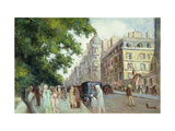 Street Scene in Paris Posters by Maximilien		 Luce