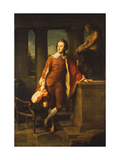 Portrait of Anthony Ashley-Cooper, 5th Earl of Shaftesbury (1761-1811) Giclee Print by Pompeo Batoni