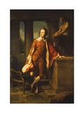 Portrait of Anthony Ashley-Cooper, 5th Earl of Shaftesbury (1761-1811) Art by Pompeo Girolamo Batoni