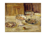 Biscuits and Fruit Compote Giclee Print by Edouard		 Vuillard