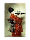 The Japanese Lady Giclee Print by Clemens Pausinger