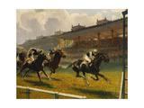 Grand Prix de Longchamp, 1932 Wydruk giclee autor Louis Ferdinand Malespina