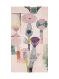 Thistle Bloom Print by Paul Klee