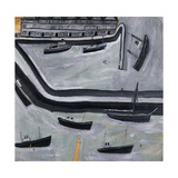 The Harbour Giclee Print by Alfred		 Wallis