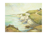 Cliffs in Brittany Prints by Claude Emile		 Schuffenecker