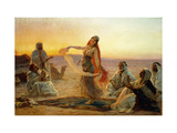The Bedouin Dancer Prints by Otto		 Pilny